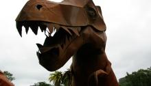 """Venues lack clear 'No Dinosaur' signage"" says Dinosaur"